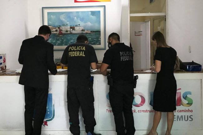 PF na Secretaria Municipal de Saúde de São Luís
