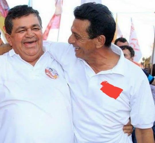 Prefeito Aluisio e o ex-prefeito Juscelino