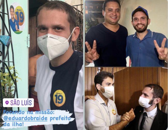 Deputado Fernando Pessoa declara apoio a Eduardo Braide