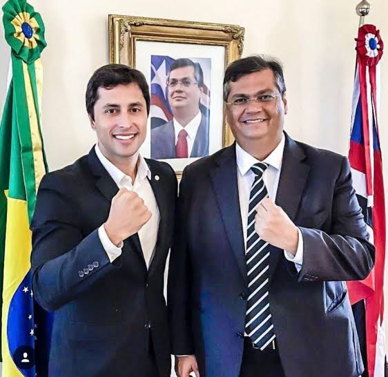Duarte Júnior e Flávio Dino juntos no segundo turno em São Luís