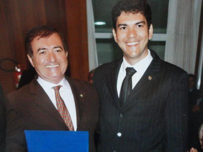 Antônio Carlos Braide e o filho Eduardo Braide