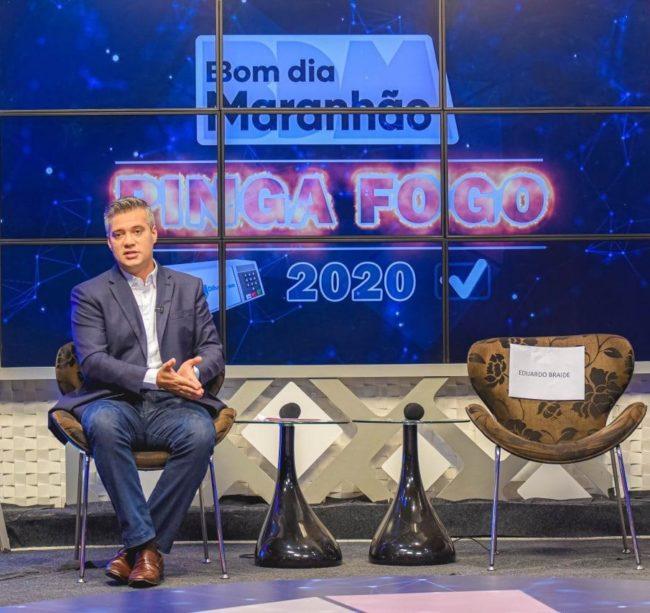 Candidato Neto Evangelista chamou Eduardo Braide de fujão por não ter participado do debate contra ele