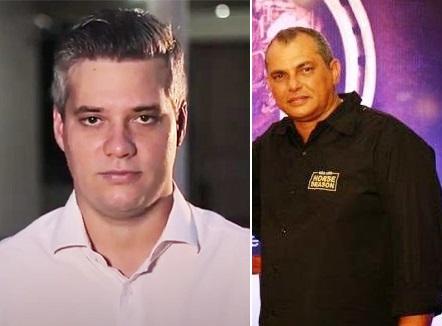 Candidato Neto Evangelista e o empresário Talib Naufel Neto