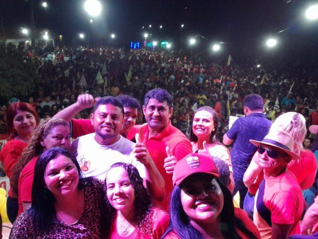 Candidato Toca Serra atrai multidão em Pedro do Rosário-MA