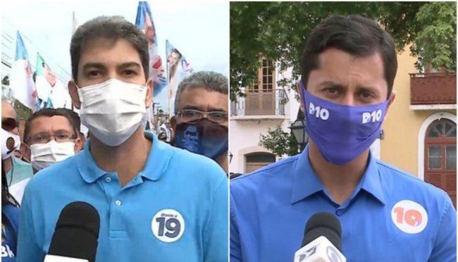 Eduardo Braide (Podemos) e Duarte Júnior (Republicanos)