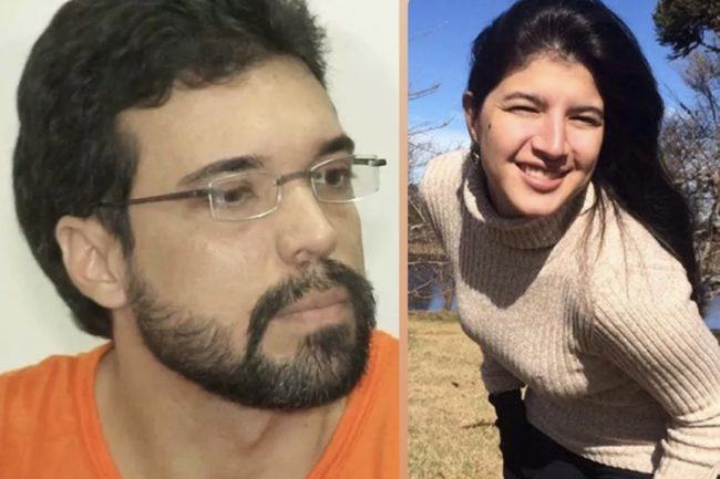 Assassino Lucas Porto e a vítima Mariana Costa
