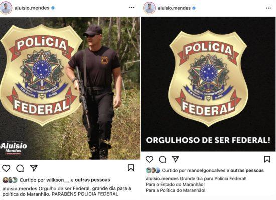 Deputado Aluísio Mendes comemora operação contra Josimar de Maranhãozinho