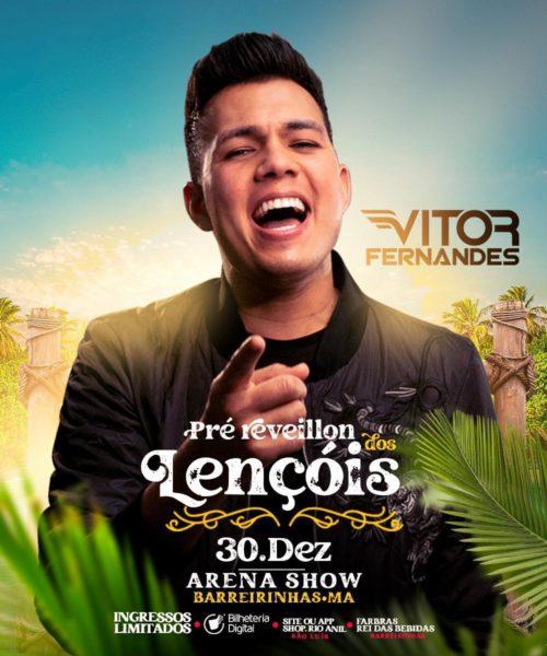 Show de Victor Fernandes promete muita aglomeração em Barreirinhas