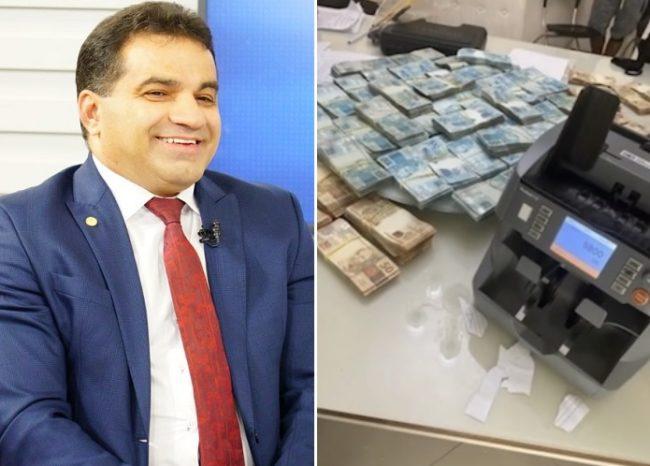 Deputado Josimar Maranhãozinho tinha milhões em dinheiro vivo na sua casa e no escritório