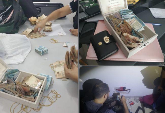 Apreensão de dinheiro na casa de hacker em Imperatriz-MA