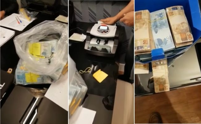 PF encontra muita dinheiro no escritório de Josimar de Maranhãozinho