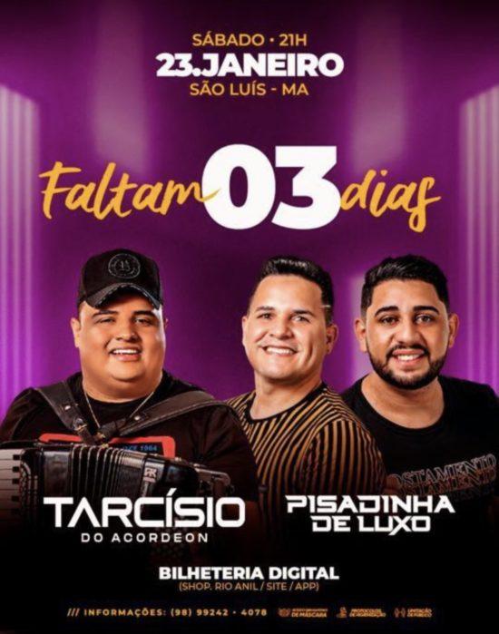 Show promete aglomeração em São Luís