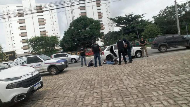 Polícia prende assaltantes em São Luís