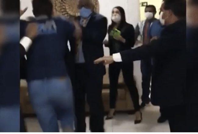 Thiago Carvalho e Anderson Pêgo brigaram após sessão na Câmara Municipal de Timon