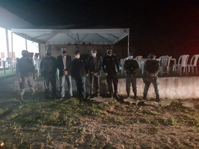 Autoridades interditam festa clandestina em São Luís-MA