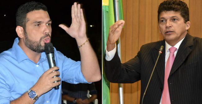 Deputado Fábio Macedo e o ex-deputado Marcos Caldas