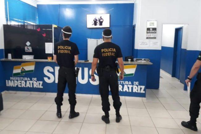 Operação da PF contra gestão de Assis Ramos em Imperatriz-MA