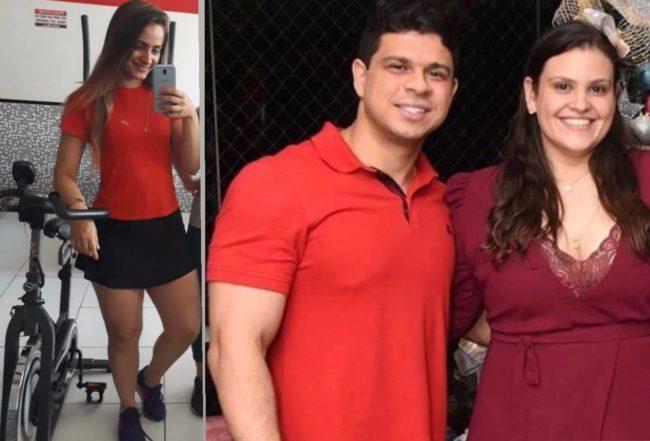 Personal Nataline e o casal de médicos Rodolfo Alves e Luanna Bringel