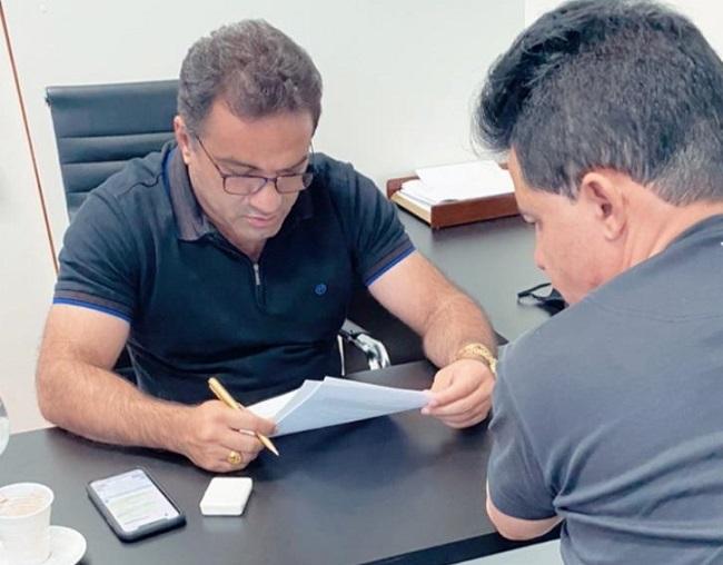 Deputado Josimar de Maranhãozinho e o lobista Magalhães