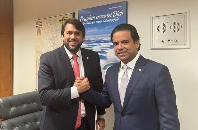 Deputados federais Pedro Lucas e Edilázio Júnior