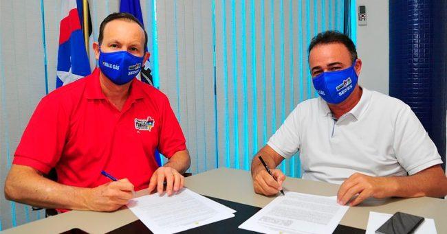 Márcio Honaiser e Erlanio Xavier
