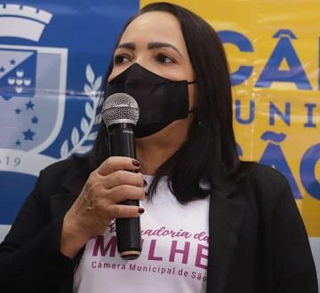 Vereadora Concita Pinto, responsável pela Procuradoria da Mulher da Câmara Municipal de São Luís