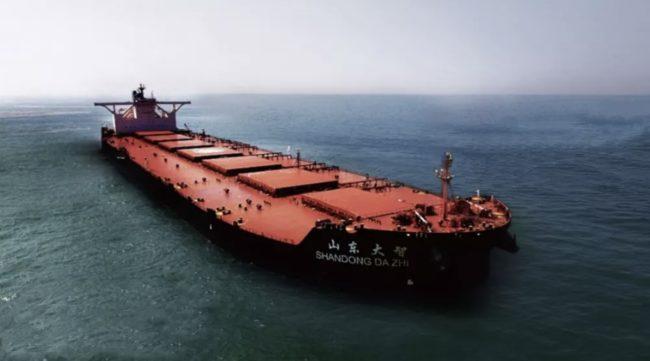 Navio MV Shandong da Zhi trouxe tripulantes infectados pela variante indiana ao Brasil