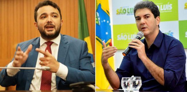 Deputado Yglésio Moyses e o prefeito Eduardo Braide