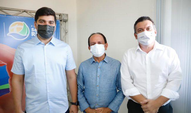 Deputado federal Marreca Filho, Dr. Julinho e Júnior Lago