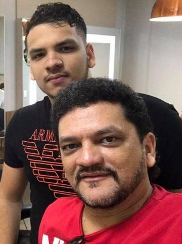Ex-prefeito Claudio Cunha e seu filho Caio Cunha