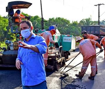 Programa São Luís em Obras foi na gestão de Edivaldo Holanda Júnior