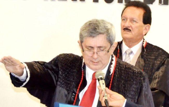 Conselheiros Washington Oliveira e o Edmar Cutrim