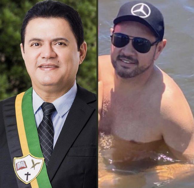 Prefeito Rigo Teles (Barra do Corda-MA) e o empresário Lailson Fernandes Cardoso