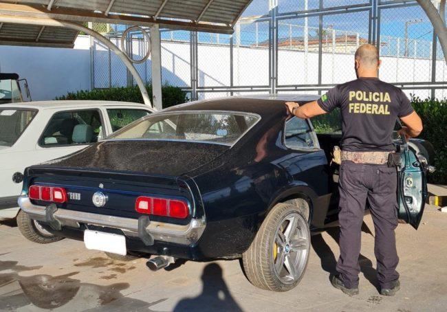 Na Operação Alinhavado em São Luís, a PF apreendeu um Ford Maverick