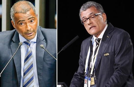 Senador Romário e o empresário Fernando Sarney