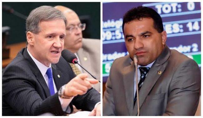 Deputados Aluísio Mendes e Josimar Maranhãozinho