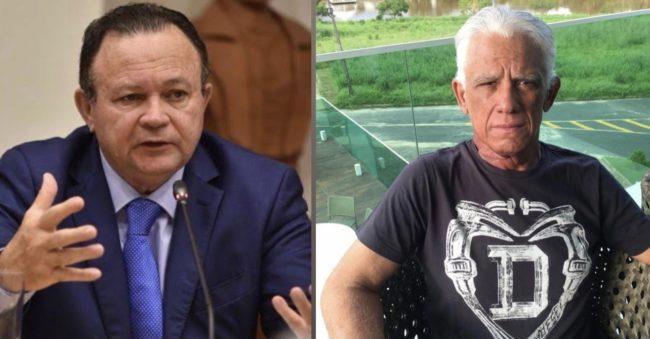 Vice-governador Carlos Brandão e o Empresário Dedé Macedo