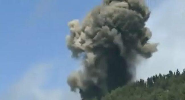 O vulcão entrou em erupção na manhã deste domingo (19)