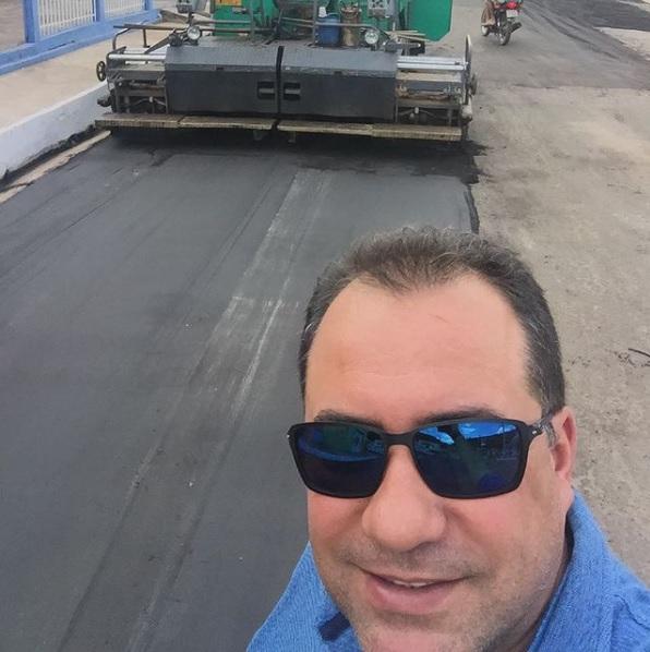 Empresário e agiota Eduardo José Barros Costa, o Eduardo DP