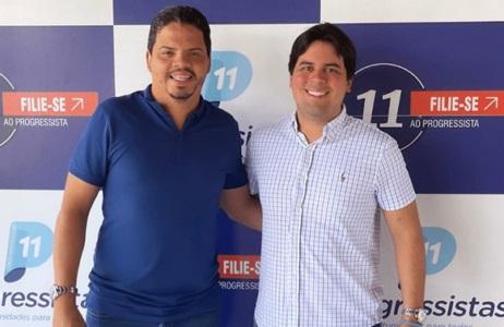 Prefeito Luciano Genésio e o deputado André Fufuca