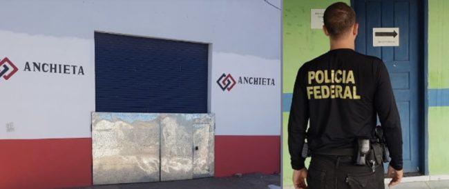 Empresa Anchieta foi alvo da PF na Operacak Vesalius